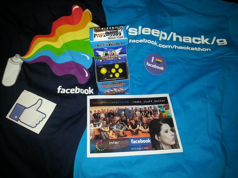 first place prizes from facebook